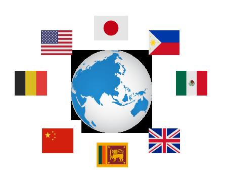 グローバルな社員